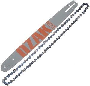 Recambios y accesorios Kit espada + cadena motosierra 45cm 72eslabones ozak forest