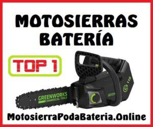 Mejores Motosierras Batería