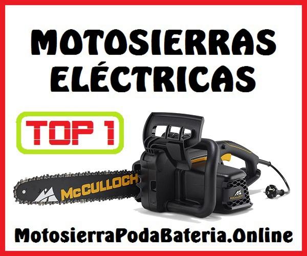 Mejores Motosierras Eléctricas