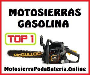 Mejores Motosierras Gasolina