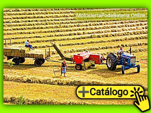 Maquinaria agrícola para el mantenimiento y cuidado de los cultivos en la agricultura (Catálogo)