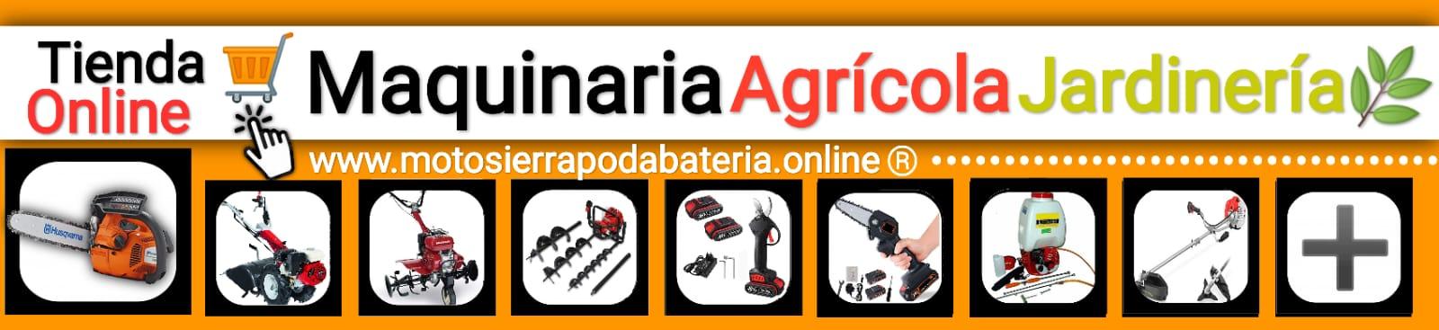 Tienda Online de Maquinaria Agrícola y Jardinería