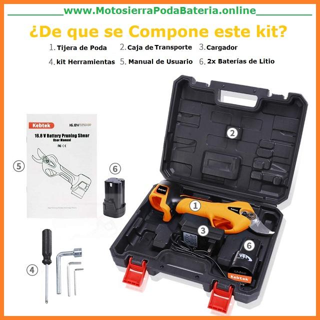 Tijeras-de-poda-a-bateria-kebtek-168v-25mm-kit-maletin-motosierrapodabateria.online